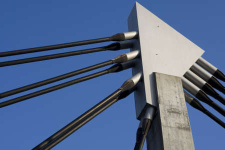 statics: Bridge traverse Stock Photo