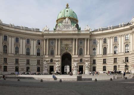 hofburg: Hofburg, � Vienne et Michaelerplatz