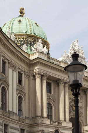 hofburg: Hofburg and Michaelerplatz in Vienna