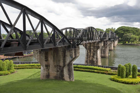 place of interest: Bridge over River Kwai, Thailand, historical place of interest