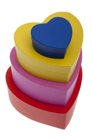 colorfully: Present, packaging in heart form