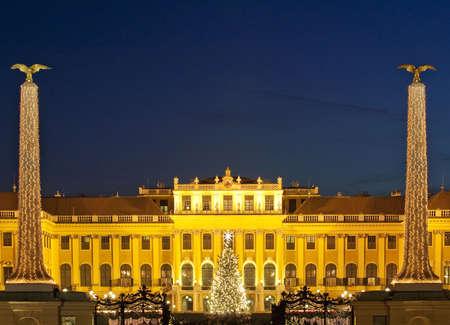 Christmas fair Schloss Schönbrunn, Vienna