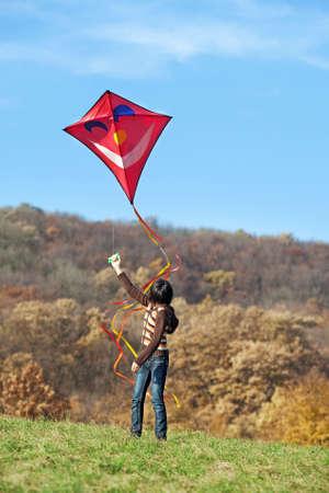 Fliegen Sie ein kite