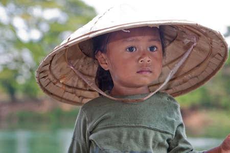 Portrait girl of Asia