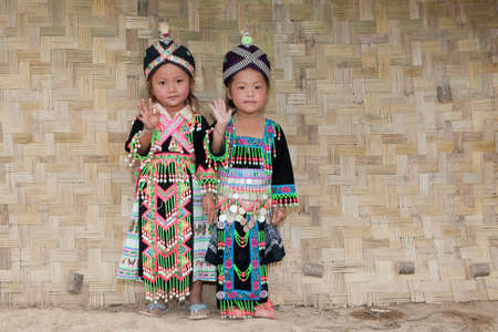 Girls from Asia Hmong Stock Photo - 6538428
