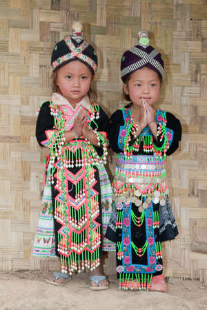 Girls from Asia Hmong Stock Photo - 6538408