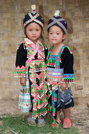 Girls from Asia Hmong photo
