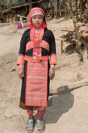 Akha woman from Laos Stock Photo - 6584924