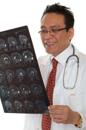 Doctor diagnosis x-ray photo