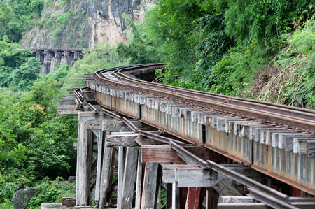 place of interest: Bridge at the River Kwai, Thamkrasae Bridge