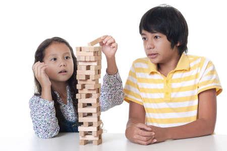 statics: Children play