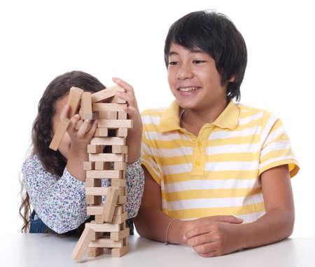 ramshackle: Children play