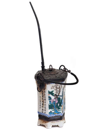 water pipe: antiguo chino pipa de agua