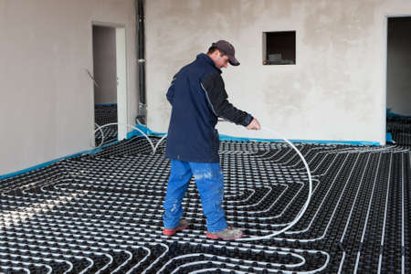 underfloor heating and cooling Stock Photo - 8902409