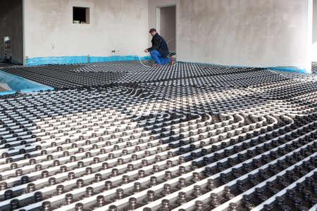 Fußboden-Heizung und Kühlung