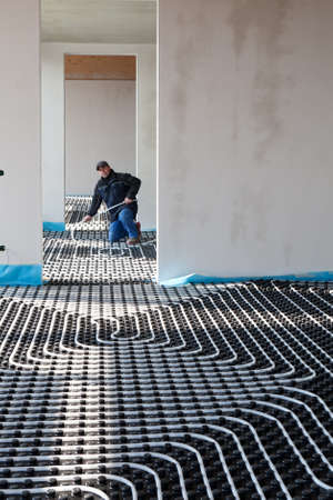 under control: underfloor heating and cooling