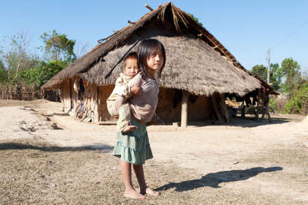 laos: Children in poverty