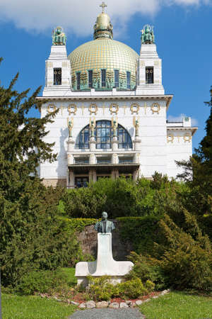 wagner: Otto Wagner church Vienna