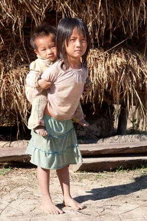 Children in poverty Stock Photo - 9521534