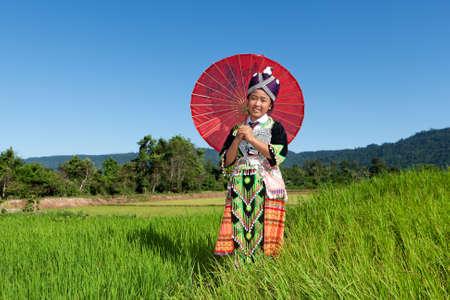 Portrait Hmong aus Laos