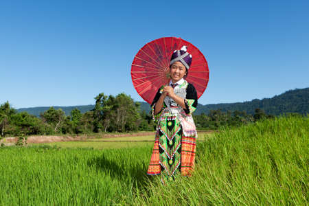 Portrait Hmong from Laos Stock Photo - 10458002