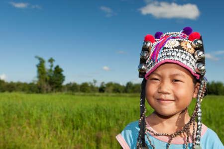 asian boy ethnic Akha Stock Photo - 10588157