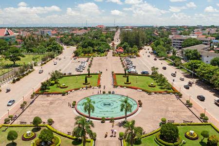Vientiane cityscape