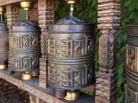 tibetan prayer wheel Stock Photo - 10761733
