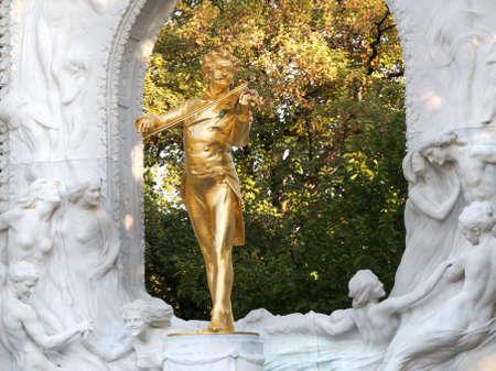 Johann Strauss Statue in Vienna Stock Photo - 10761743