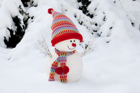 Snowman Standard-Bild