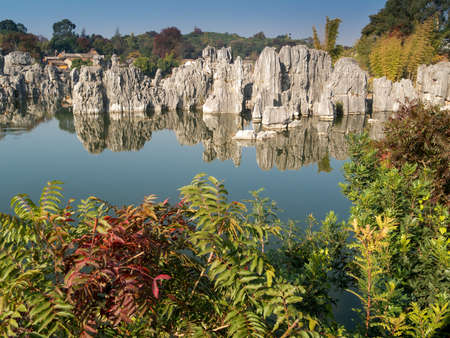 Shilin Stone Forest Standard-Bild
