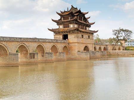 brige: diecisiete lapso brige Jianshui, China