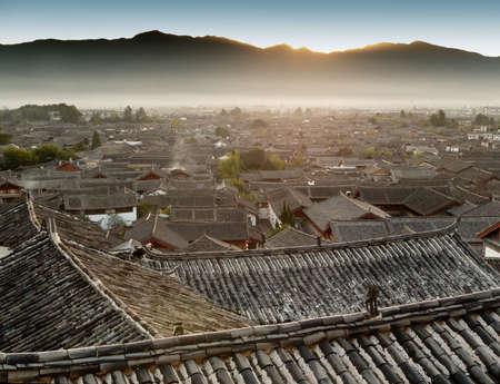 yunnan: Lijiang old town, yunnan, China Stock Photo
