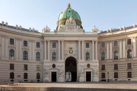 Michaelerplatz Vienna Stock Photo - 12167057