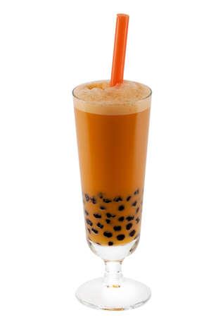 pearl tea: Bubble tea Stock Photo