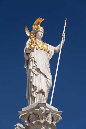 Atenea, diosa de la mitolog�a griega Foto de archivo - 14791970