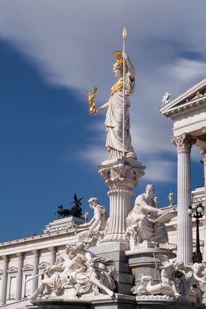 pallas: Austrian Parliament with Pallas Athene