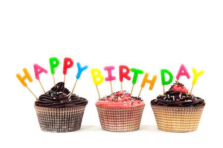 chocolate birthday cake: Happy Birthday