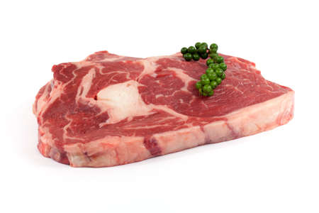 rib eye: Rib eye steak Stock Photo