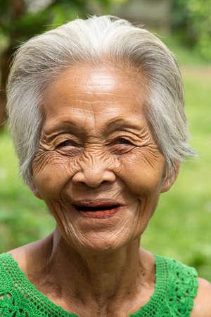 old asian women Standard-Bild