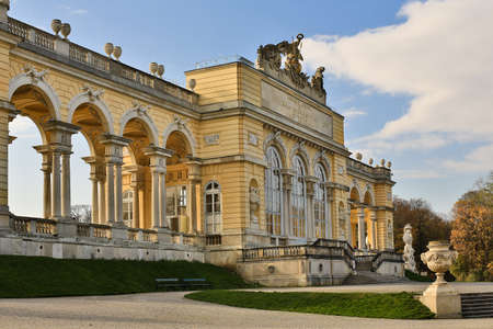 the gloriette: Gloriette Vienna