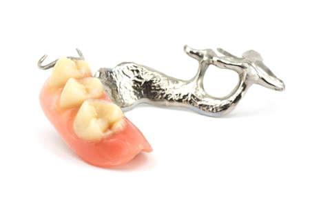 Removable partial denture Zdjęcie Seryjne