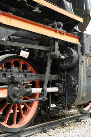 steam locomotive: Steam Locomotive Stock Photo