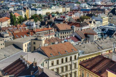 angle: Cityscape High Angle View