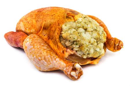 prepared: Prepared Chicken For Cooking Stock Photo