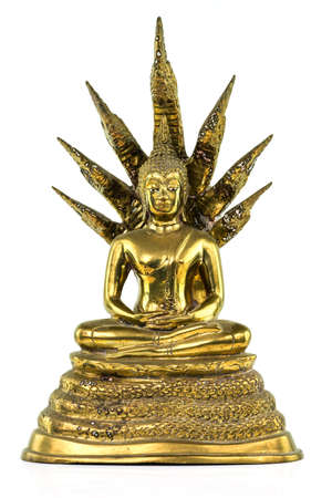 figur: Buddhist Figur Bronze Stock Photo