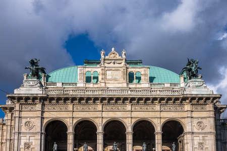 innere: Vienna State Opera Stock Photo
