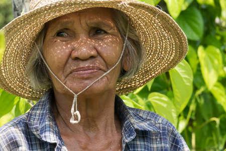 Old asian women