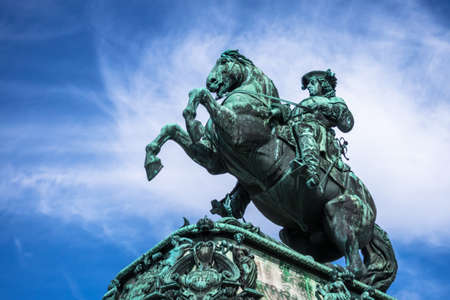innere: Equestrian Statue Prince Eugene of Savoy