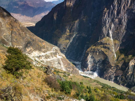 Tiger Leaping Gorge, Yunnan in China